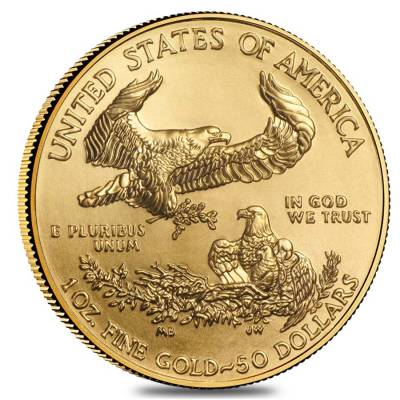 2015 1 oz Gold American Eagle $50 Coin