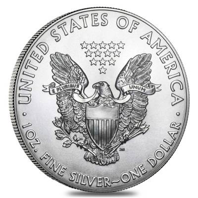 Roll of 20 - 2014 1 oz Silver Eagle Brilliant Uncirculated