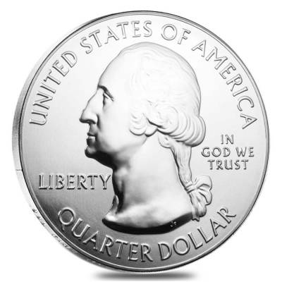 2016 5 oz Silver America the Beautiful ATB Shawnee National Forest Coin