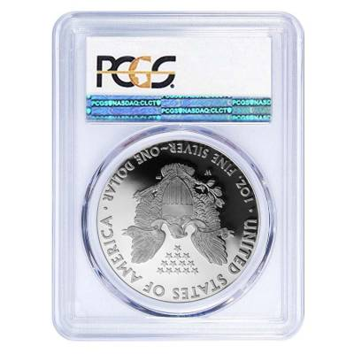 2017-W 1 oz Proof Silver American Eagle PCGS PF 70 DCAM First Strike (WP Label)