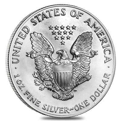 1987 1 oz Silver American Eagle Brilliant Uncirculated