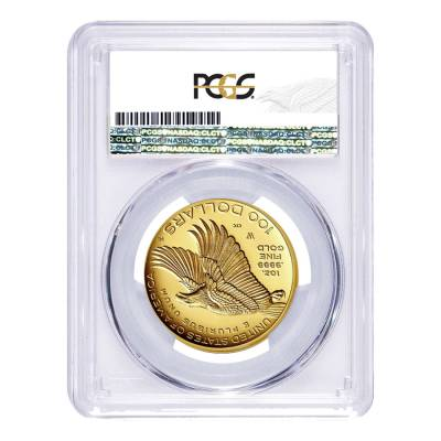 2017 W 1 oz $100 American Liberty High Relief Proof Gold Coin PCGS PF 70 First Strike (225th Ann. Label)