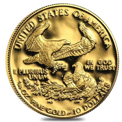 1/4 oz Proof Gold American Eagle In Cap (Random Year)