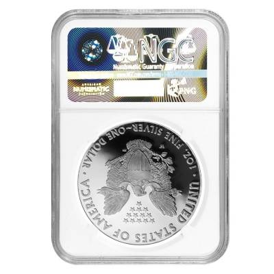 2018-W 1 oz Proof Silver American Eagle NGC PF 70 UCAM Early Releases