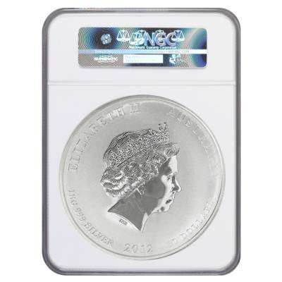 2012 1 Kilo Silver Lunar Year of The Dragon Coin NGC MS 70