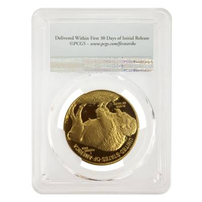 2017-W 1 oz $50 Proof Gold American Buffalo PCGS PF 70 First Strike
