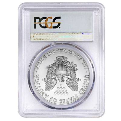 2018 1 oz Silver American Eagle $1 Coin PCGS MS 70 First Day of Issue