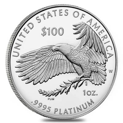 2018-W 1 oz Proof Platinum American Eagle - Life - Preamble to the Declaration of Independence Series