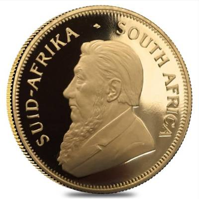 1 oz Gold Proof South African Krugerrand Coin (Random Year)