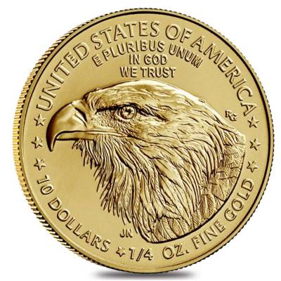 2021 1/4 oz Gold American Eagle Type 2 NGC MS 70 Early Releases