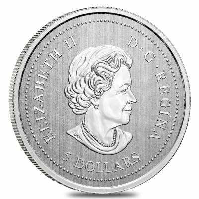 2021 Canada 7.96 gram Silver The Snowbirds - Moments to Hold Coin .9999 Fine