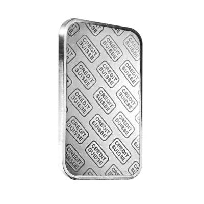 1 oz Credit Suisse Platinum Bar .9995 Fine (w/Assay)