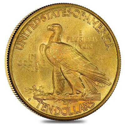 1916 S 10 Gold Indian Head Coin Ngc Au58 Bullion Exchanges