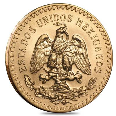 50 Peso Mexican Gold Coin (Random Year)