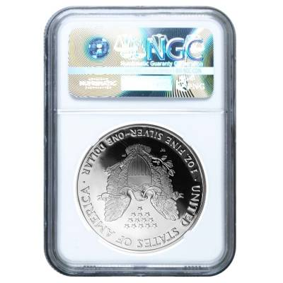 2005-W 1 oz Proof Silver American Eagle $1 Coin NGC PF 70 UCAM