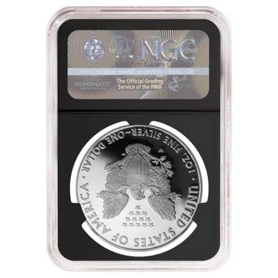 2016-W 1 oz Proof Silver American Eagle NGC PF 69 UCAM Early Releases - 30th Anniversary (Retro Holder)