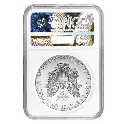 2017 1 oz Silver American Eagle $1 Coin NGC MS 70 First Day of Issue