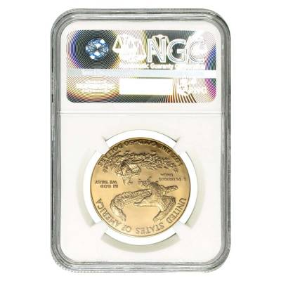 1 oz $50 Gold American Eagle NGC MS 69 (Random Year)