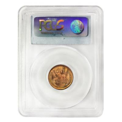 1909 VDB Lincoln Wheat Penny PCGS MS 65 RD