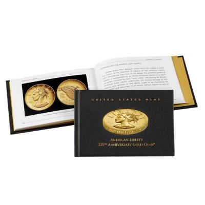 2017 W 1 oz American Liberty High Relief Proof Gold Coin (OEM Box)