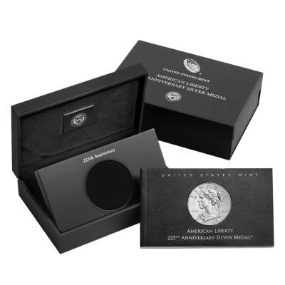 2017 P 1 oz American Liberty High Relief Proof Silver Medal (OEM Box)