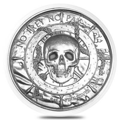 40 mm Empty Coin Capsule For 2 oz Silver Rounds