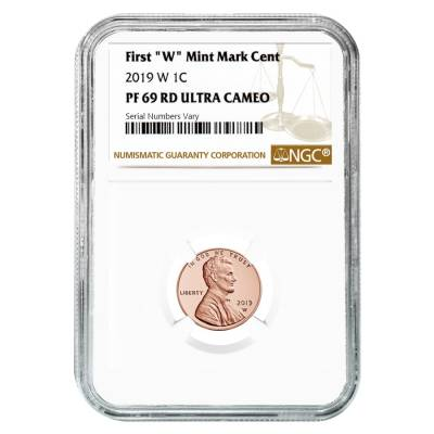 2019 W Proof Lincoln Penny Cent Comm. NGC PF 69