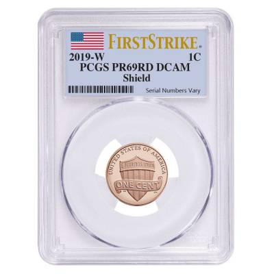 2019 W Proof Lincoln Penny Cent Comm. PCGS PF 69 FS