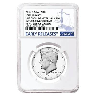 Early Releases 2015 s silver Kennedy half dollar NGC PF 69 Ultra Cameo **