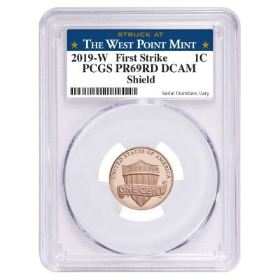 2019 W Lincoln Cent PCGS 69 Proof