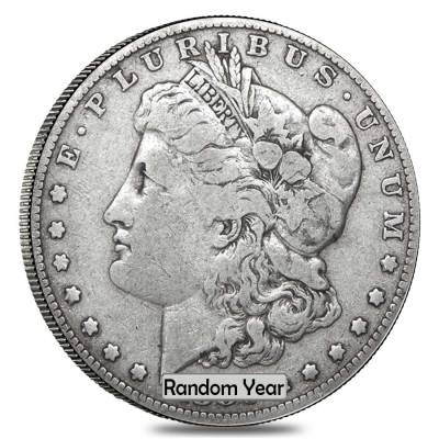 Roll of 20 - 1878-1904 Silver Morgan Dollar VG-VF (Random Year)