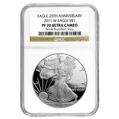 2011-W 1 oz Proof Silver American Eagle NGC PF 70 UCAM