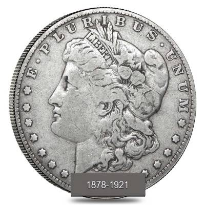 Roll of 20 - 1878-1921 Silver Morgan Dollar Cull (Random Year)
