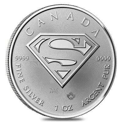 2016 1 oz Silver Canadian Superman: S-Shield NGC MS 69 FDOI