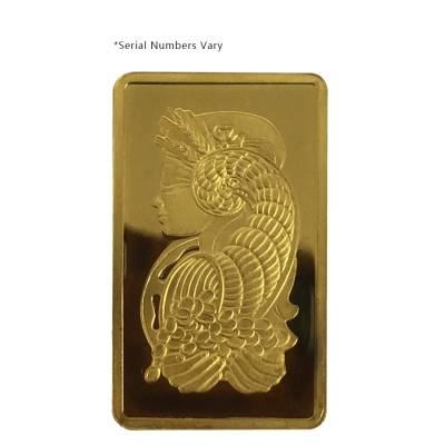 2.5 gram Generic Gold Bar .999+ Fine (IRA-approved, Secondary Market)