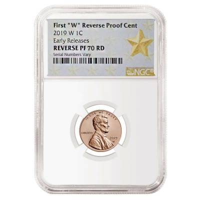 2019 W Reverse Proof Lincoln Penny Cent Comm. NGC PF 70 ER (Star Label)