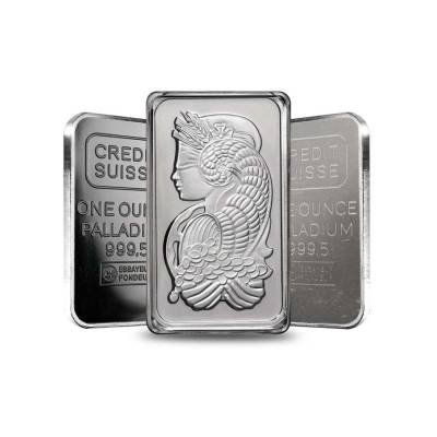 1 oz Generic Palladium Bar .9995 Fine (IRA-approved, Secondary Market)