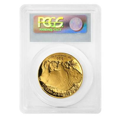 2010 W 1 oz $50 Proof Gold American Buffalo PCGS PF 69 DCAM