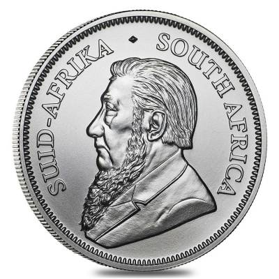Roll of 25 - 2020 South Africa 1 oz Silver Krugerrand BU (Tube, Lot of 25)