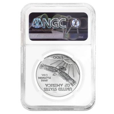 2018 1 oz Platinum American Eagle NGC MS 70 First Day of Issue