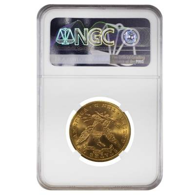 1901 S $10 Liberty Head Gold Eagle Coin NGC MS 62