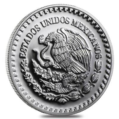 2018 1/2 oz Mexican Silver Libertad Coin .999 Fine Proof (In Cap)