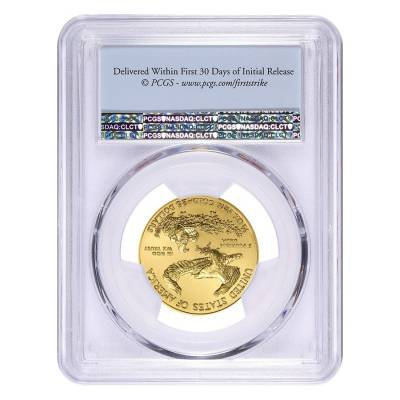 2019 1/2 oz Gold American Eagle PCGS MS 70 First Strike