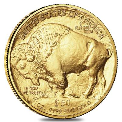 2019 1 oz Gold American Buffalo $50 Coin BU
