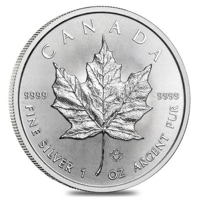 2020 1 Oz Canadian Silver Maple Leaf Coin Bullion Exchanges
