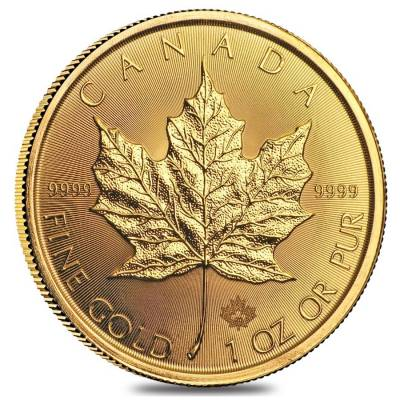 2020 1 oz Canadian Gold Maple Leaf $50 Coin .9999 Fine BU
