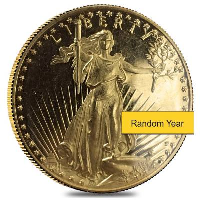 1/2 oz Proof Gold American Eagle Scruffy (Random Year)