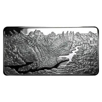 10 oz Republic Metals (RMC) Silver Eagle Bar .999 Fine (Sealed)