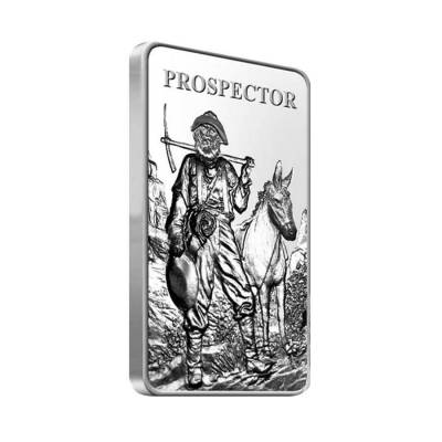 Prospector 10 Oz Silver Bar Sealed 999 Bullion Exchanges