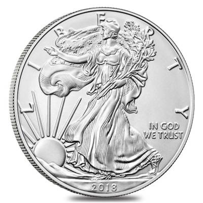 2018-W 1 oz Burnished Silver American Eagle (w/Box & COA)
